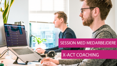 X-Act Coaching SESSION MED MEDARBEJDERE ​​​